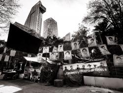 Mémorial pour les 43 étudiants disparus