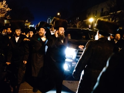 Thousands of people to celebrate the coming of Rabbi Yissachar Dov Rokeach