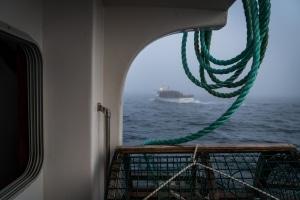 Lobster fishing on les Îles de la Madeleine