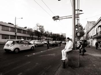 The Mariachis of Garibaldi plaza