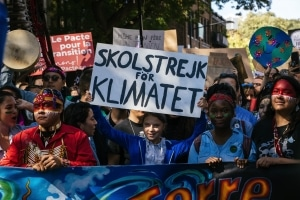 Demonstration on September 27 for action on climat change