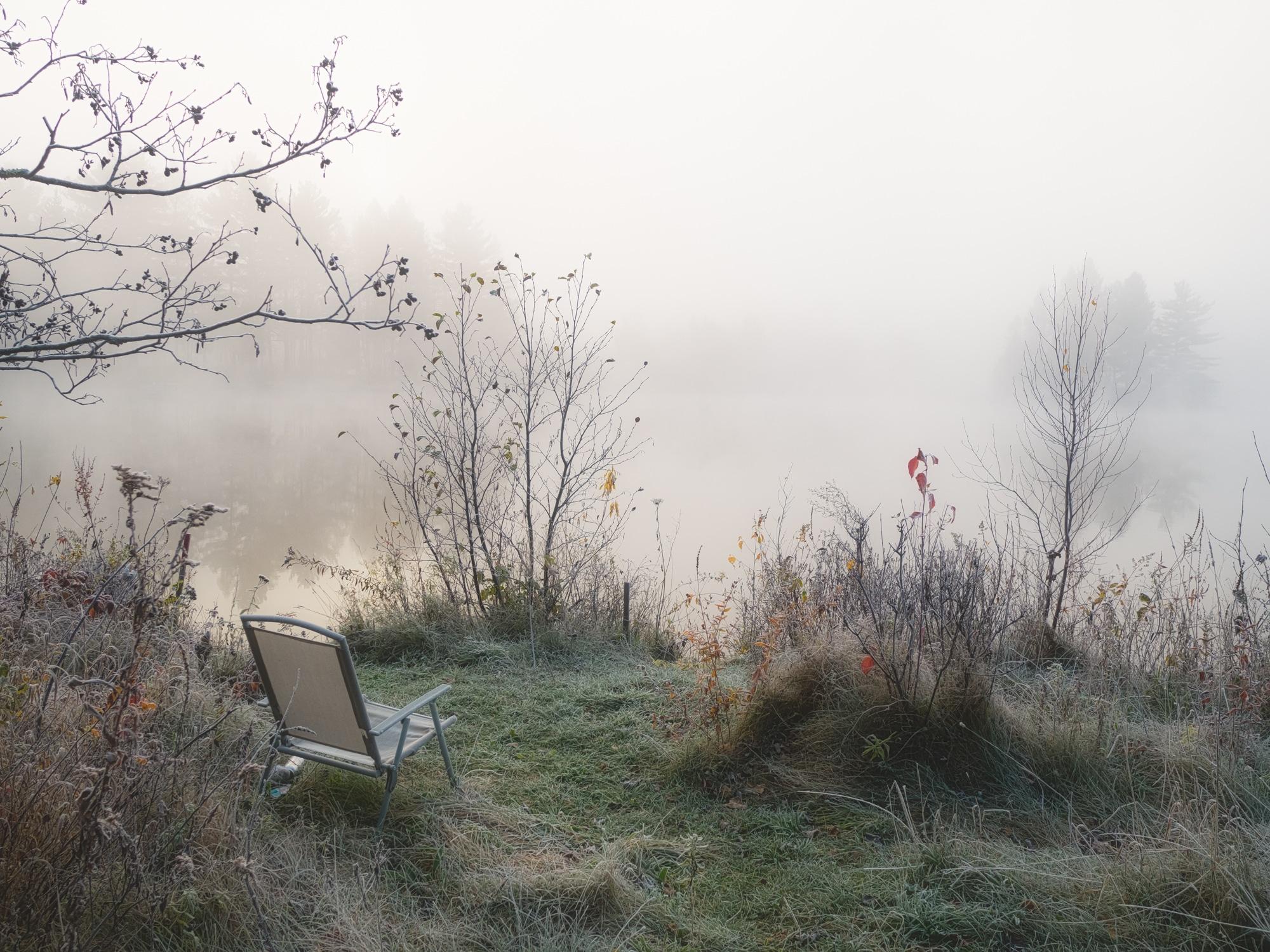 Matin de brume en novembre