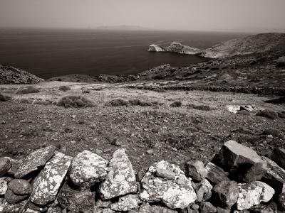 Sur l'île de Syros en Grèce