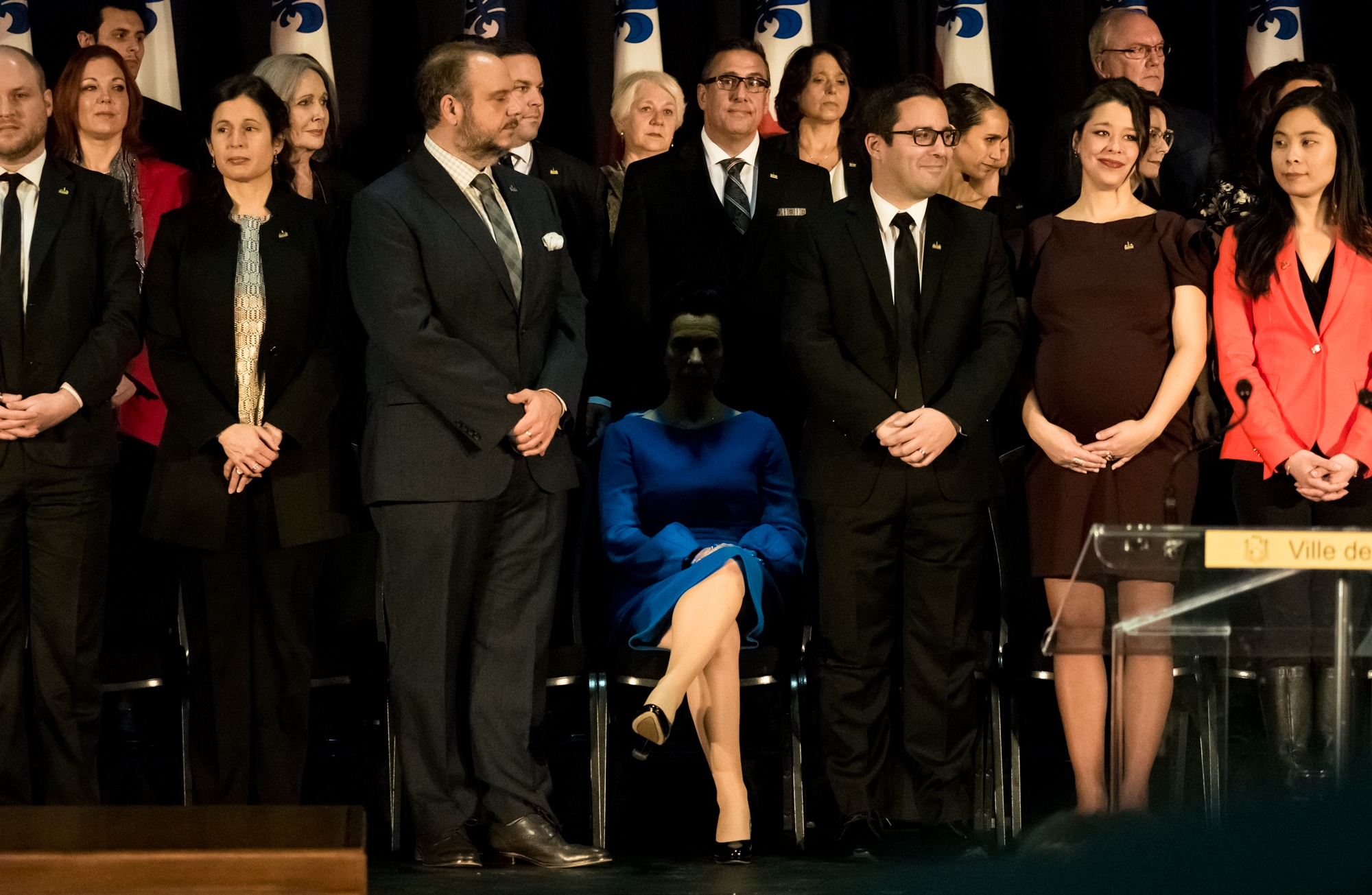 The team of Valérie Plante is sworn in turn