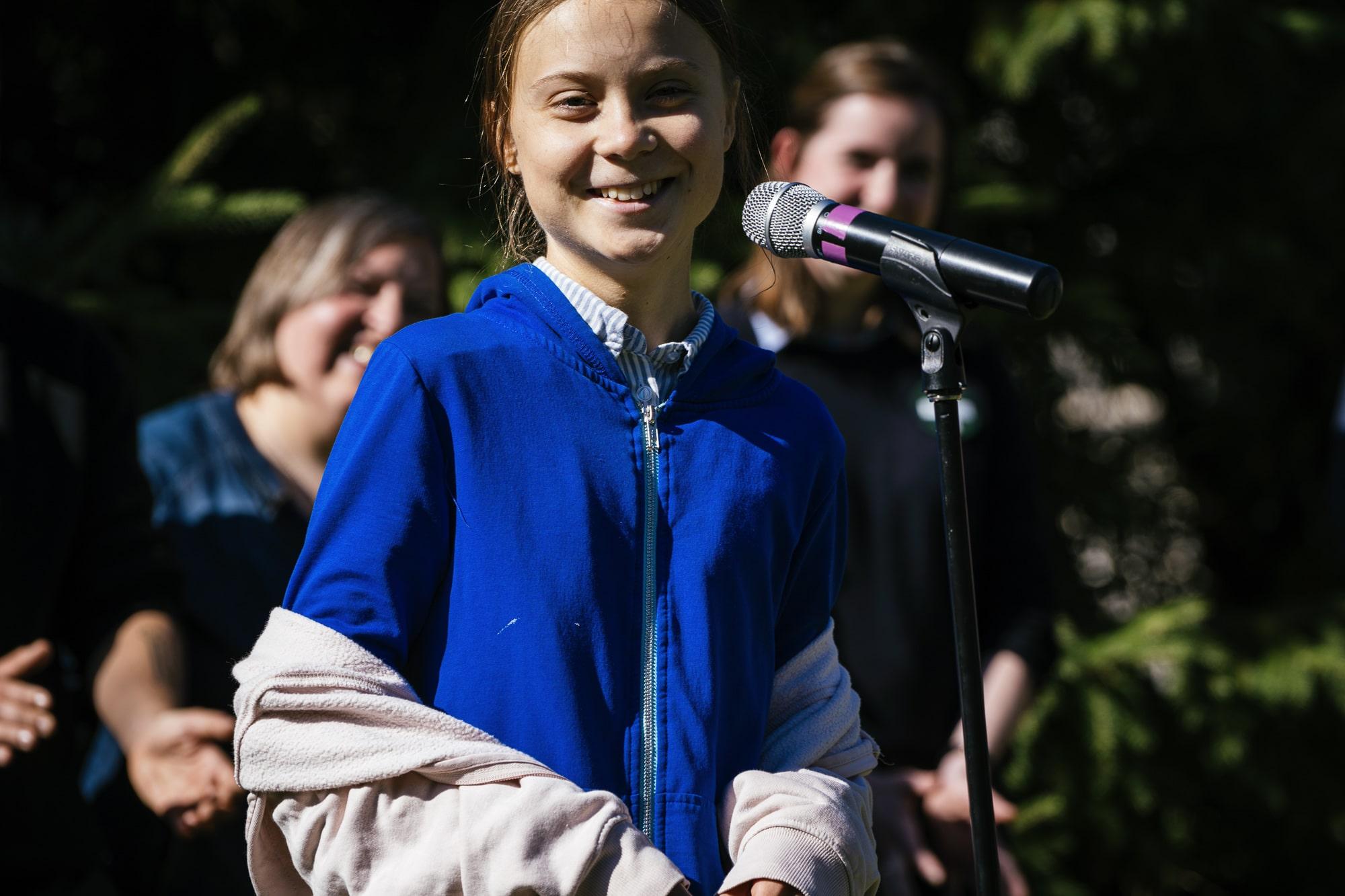Demonstration on September 27 for action on climat change
