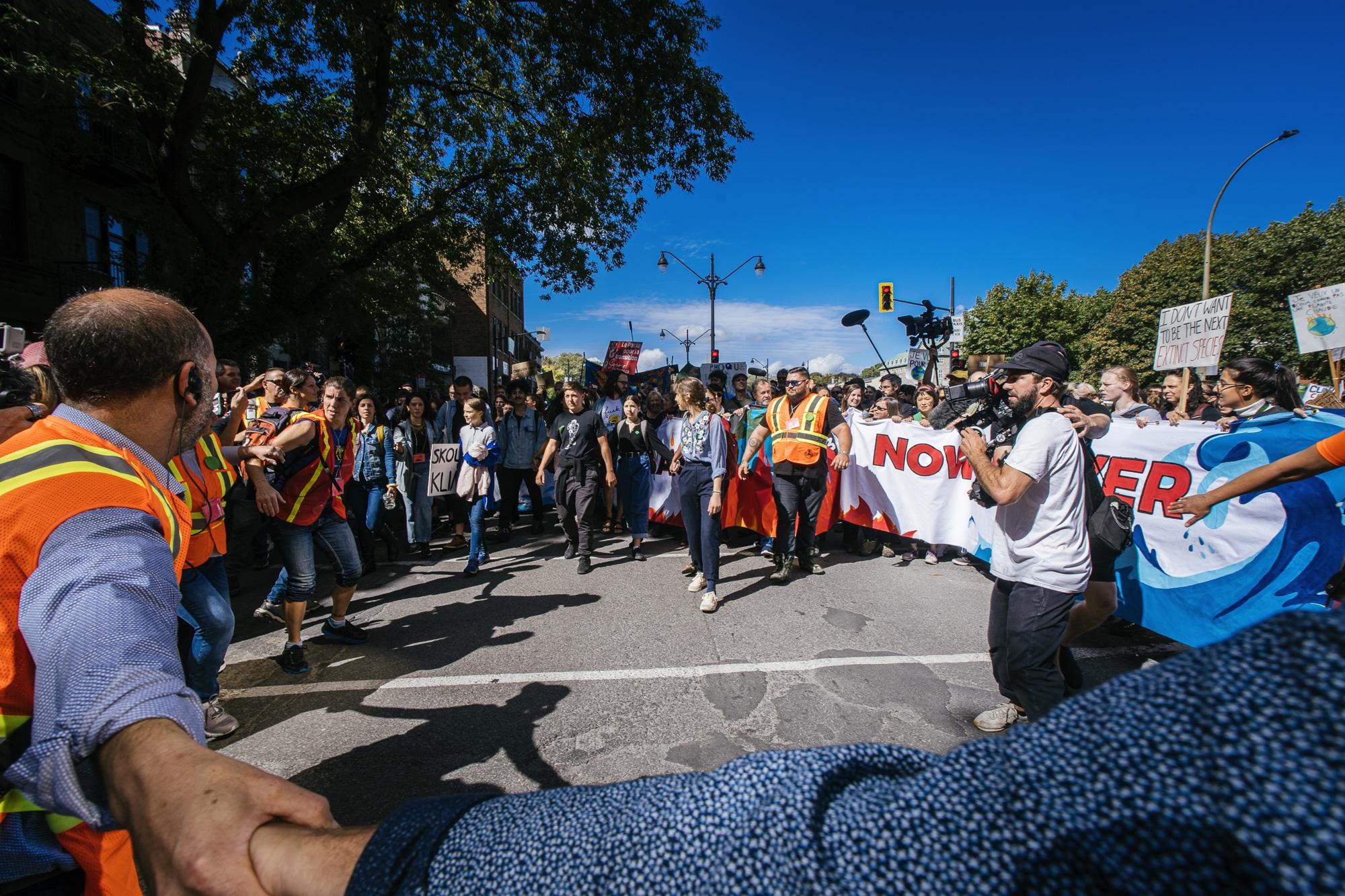 Manifestation du 27 septembre 2019 pour le climat