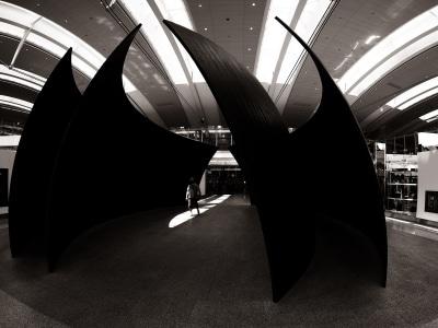 À l'aéroport Pearson a Toronto