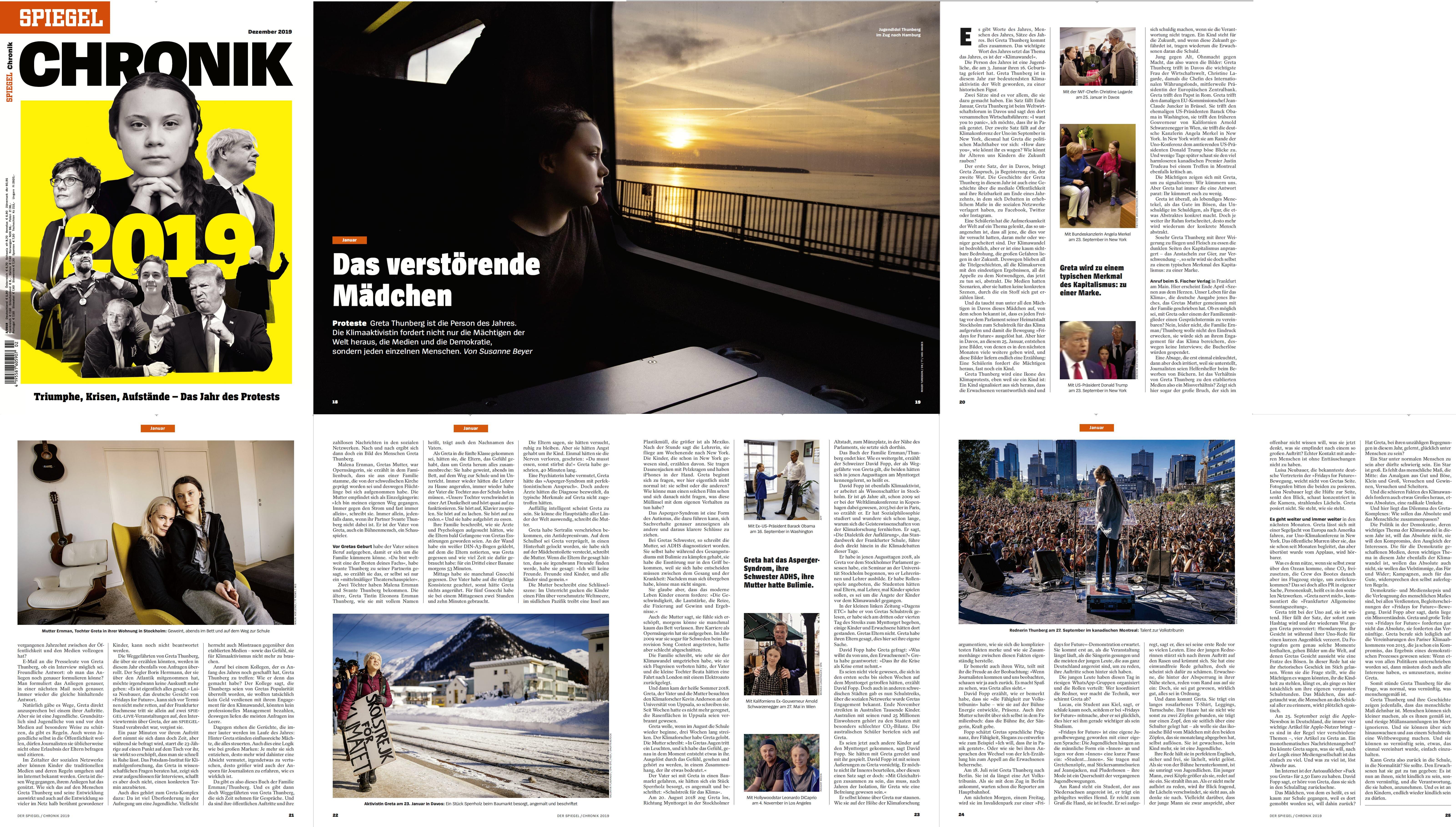 Der Spiegel chronik 2019