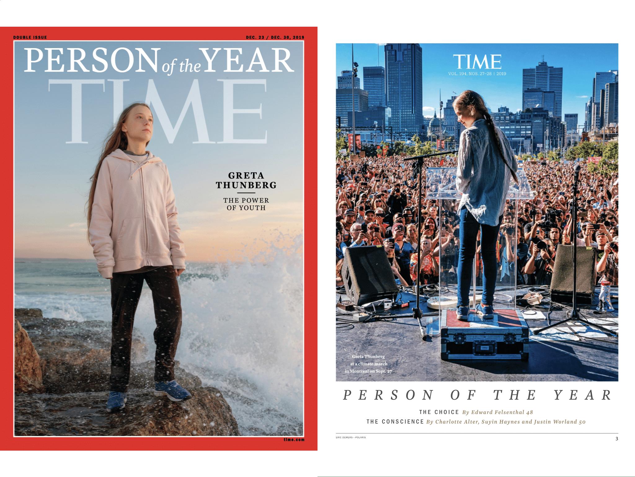 TIME magazine 23 décembre 2019