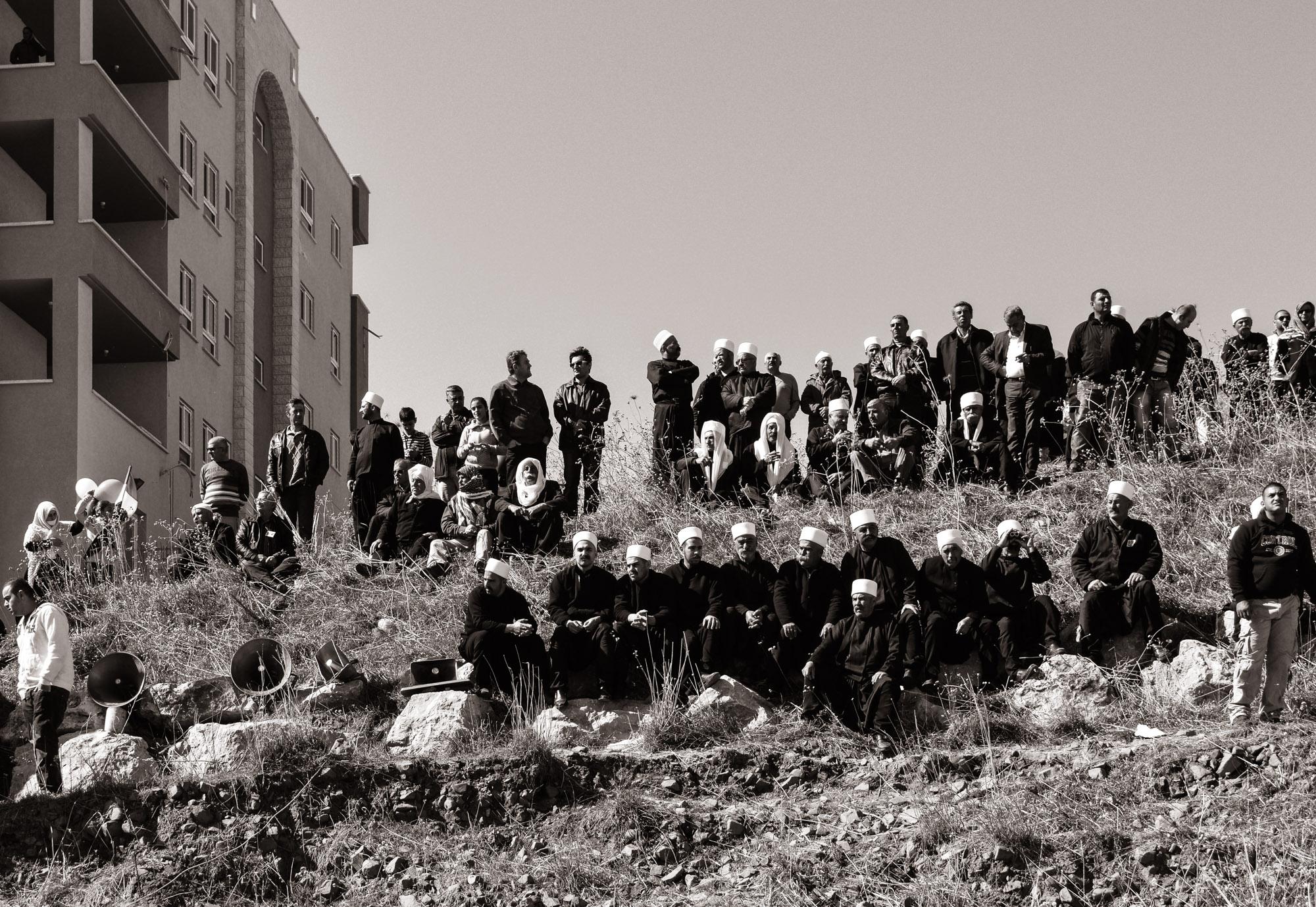 Sur la frontière avec la Syrie
