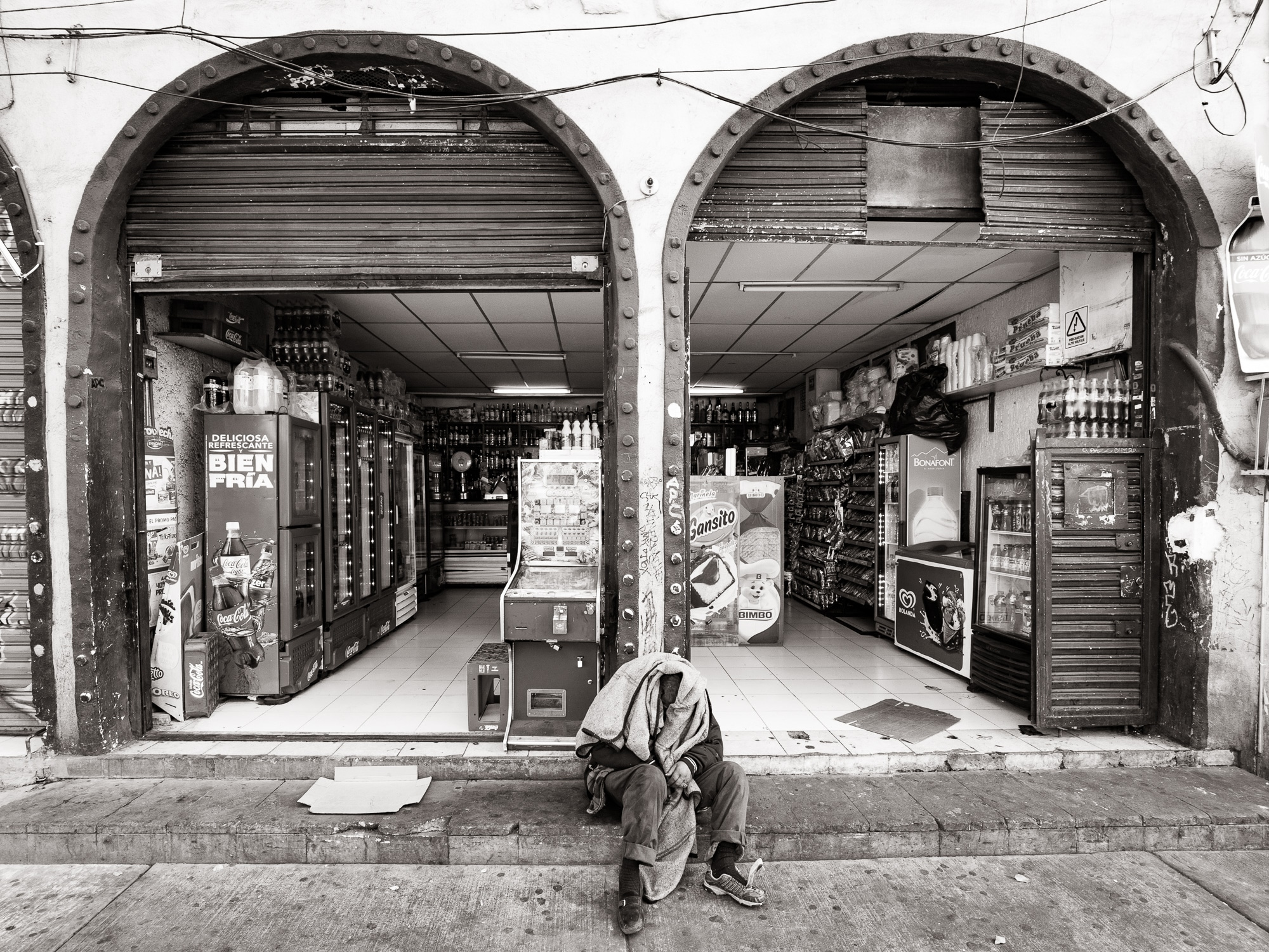 Hard life in Mexico city