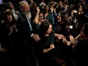 The unforgettable day of Valérie Plante