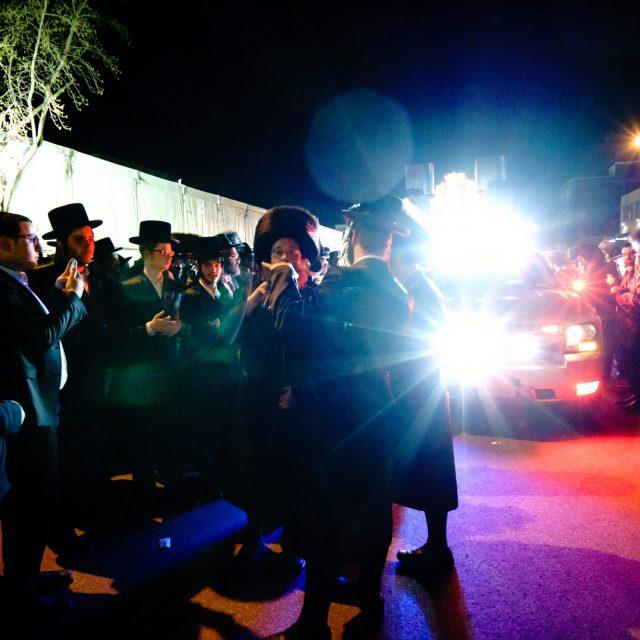 Des milliers de personnes pour la venue d'un rabbin