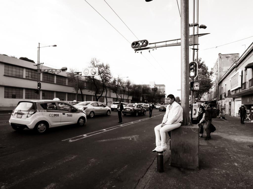 Les mariachis de la Plaza garibaldi